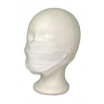 Baumwoll-Gesichtsmaske weiß