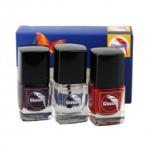 Glasurit Nagellack (3 Farben / Set)