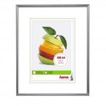 Picture frame silver for DIN A4 formats