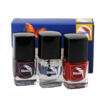 Glasurit nail polish (3 colors / set)